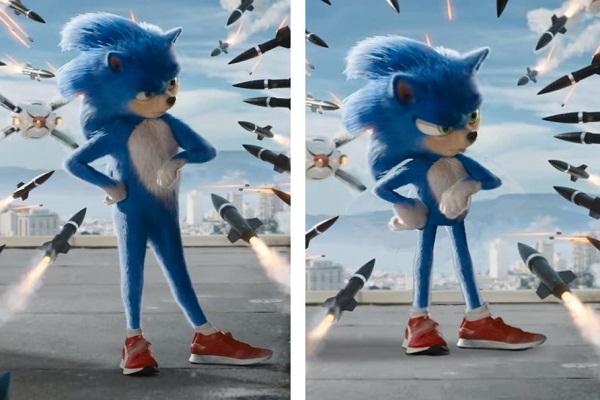 Fanáticos de Sonic criticaron el aspecto en el tráiler del nuevo 'live action'