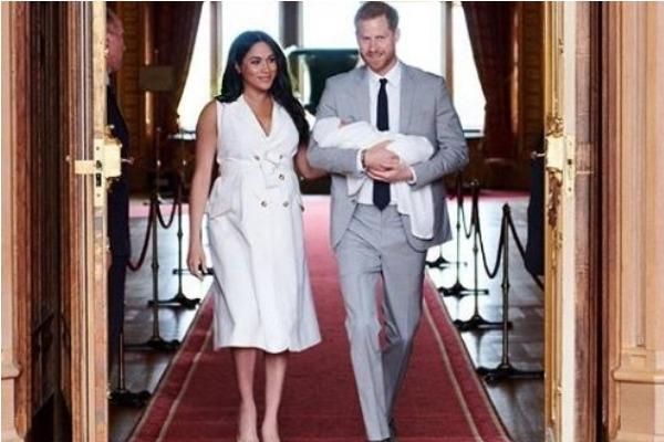 Meghan Markle y el príncipe Harry publicaron nueva foto de Archie