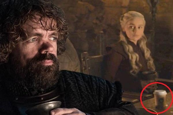 El culpable del vaso de Starbucks en Game of Thrones