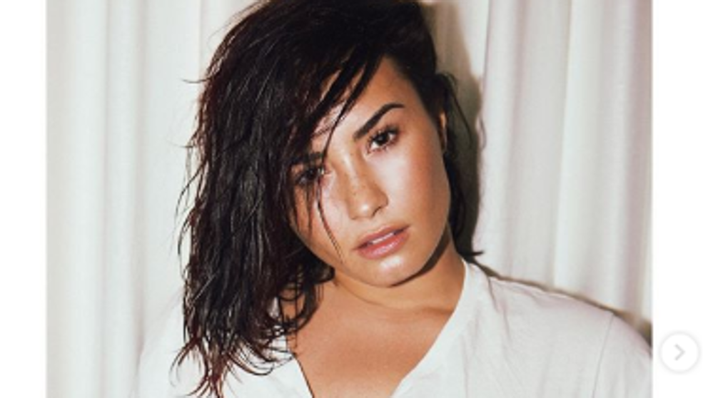 Las impactantes fotos de Demi Lovato al natural