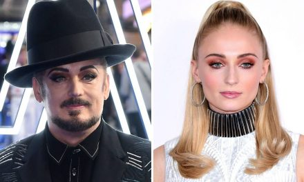 Boy George quiere a Sophie Turner interpretando su vida