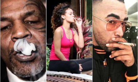 A estos artistas les gusta la marihuana y están a favor de legalizarla