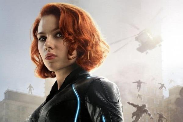 Scarlett Johansson es captada en el set de 'Black Widow'