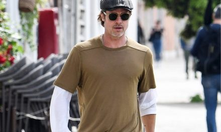 Brad Pitt utilizó la misma ropa durante una semana