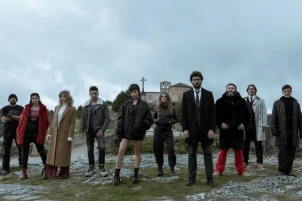 Netflix publicó nuevo tráiler de 'La Casa de Papel' (Video)