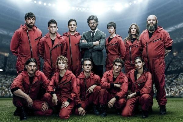 Netflix anunció estreno del tráiler de 'La Casa de Papel'