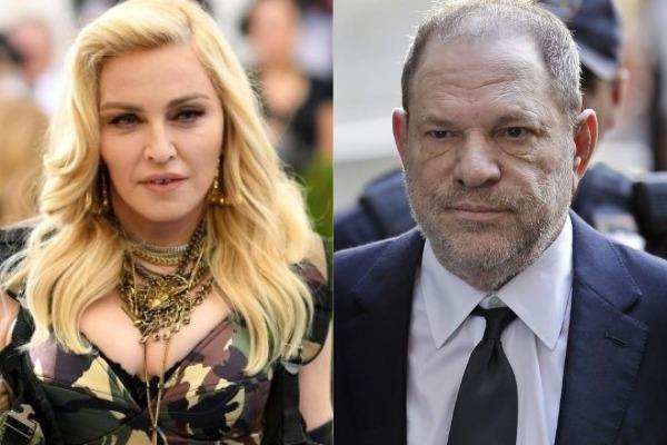 Madonna confesó acoso sexual de Harvey Weinstein