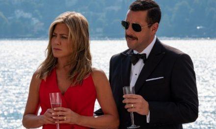 'Murder Mystery' batió récord de vistas en Netflix