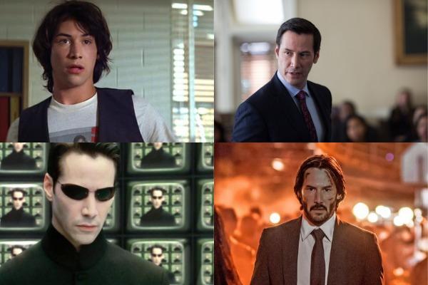 Las 10 películas que nos hicieron amar a Keanu Reeves