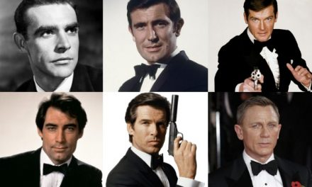 Los actores que han interpretado a James Bond