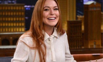 El sexy desnudo de Lindsay Lohan por su cumpleaños