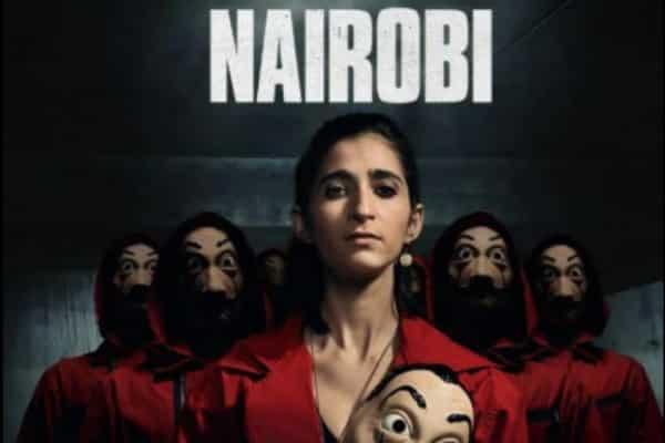 Nairobi de 'La Casa de Papel' en amoríos con otra chica
