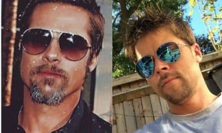 Obrero de construcción es confundido con Brad Pitt