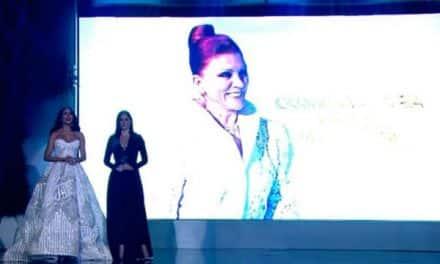 Miss Venezuela rindió homenaje a Carmen Victoria Pérez