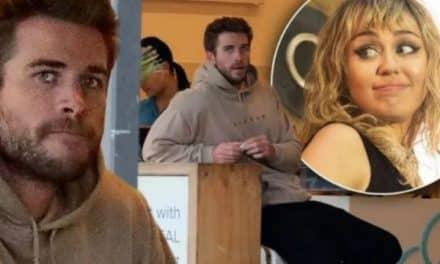 Captaron a Liam Hemsworth dolido tras separarse de Miley
