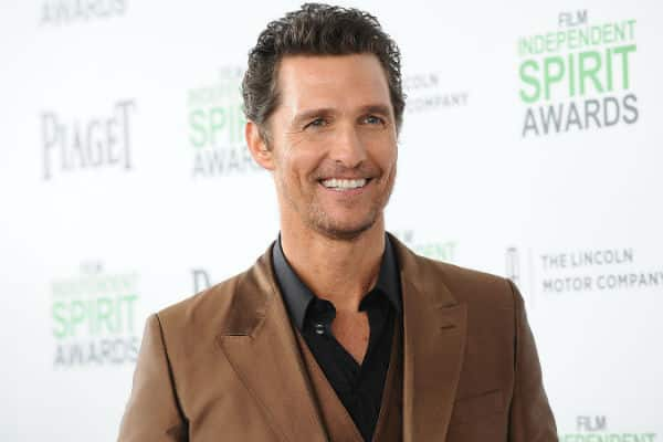 Matthew McConaughey será profesor universitario