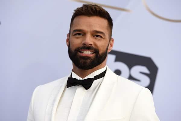 Ricky Martin mostró el rostro de su bebé por primera vez