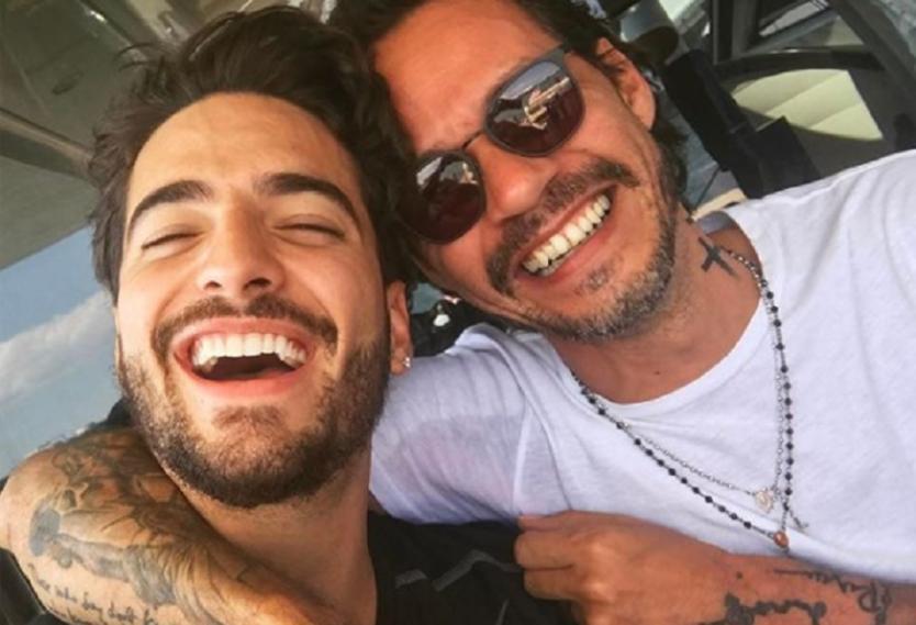El mensaje de cumpleaños de Maluma a Marc Anthony