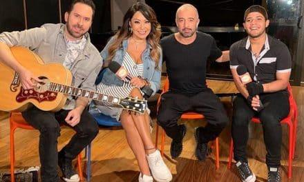 Alexander Beja grabó su primer tema con Camila