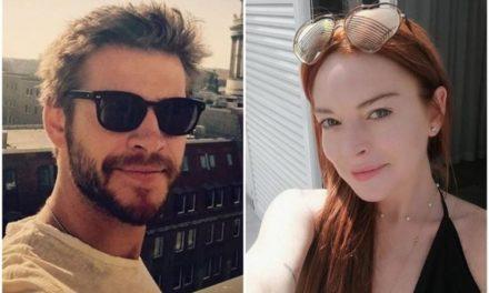 ¡Atrevida! Lindsay Lohan le coqueteó a Liam Hemsworth