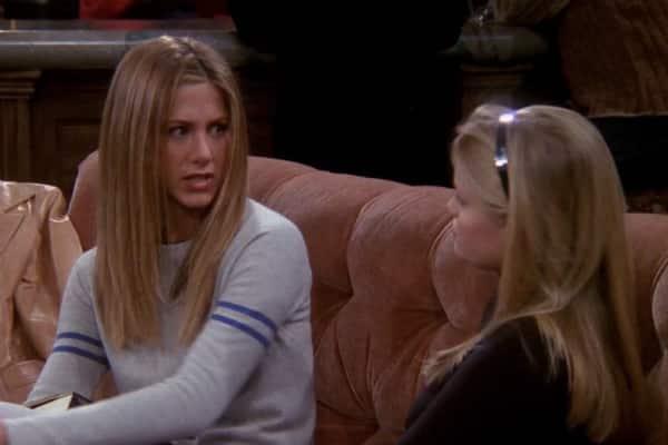 Jennifer Aniston y Reese Witherspoon interpretaron una escena de Friends