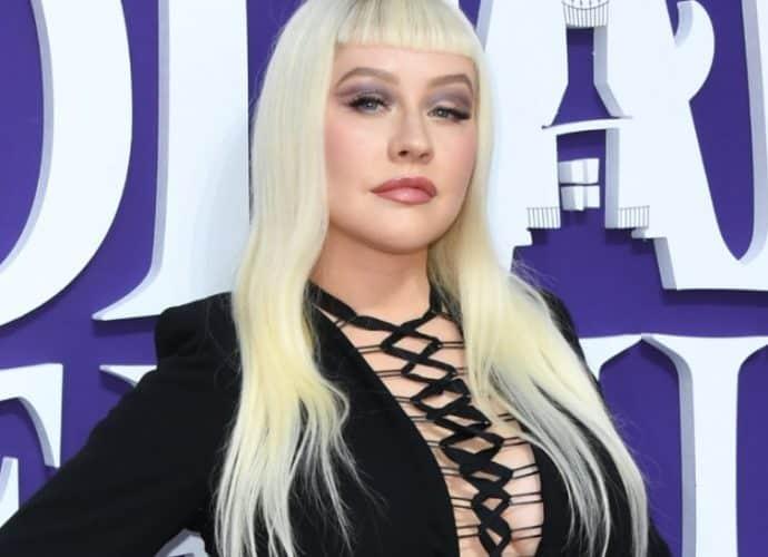 Christina Aguilera sorprendió con este cambio de look