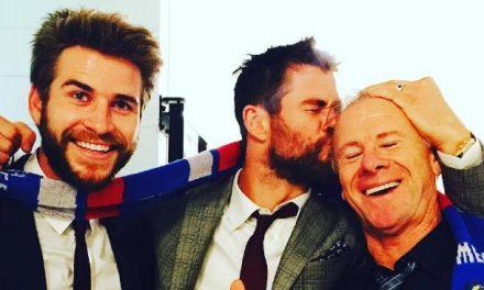 Mira como luce el padre de los hermanos Hemsworth a los 70 años