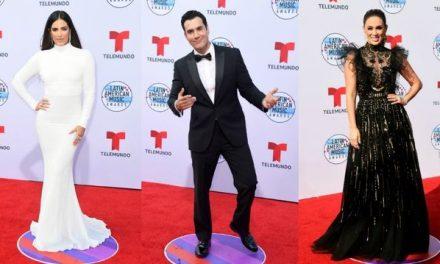 Así se vivió la alfombra roja de los Latin American Awards 2019