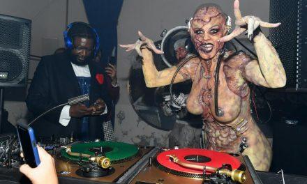 Heidi Klum celebró Halloween con un disfraz espeluznante