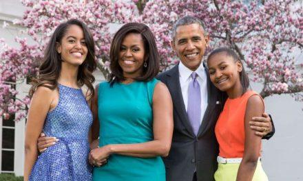 Así celebraron los Obama el día de acción de gracias