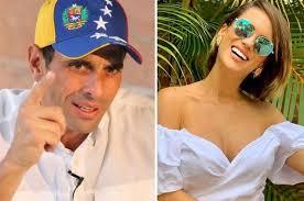 La animadora Valeria Valle y el político Henrique Capriles serán padres