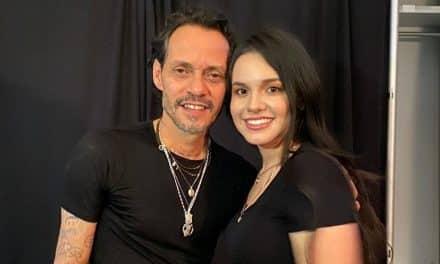Marc Anthony se tomó una foto con Sarita Sosa y fue criticado