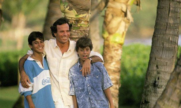 Enrique Iglesias se reconcilió con su padre Julio Iglesias