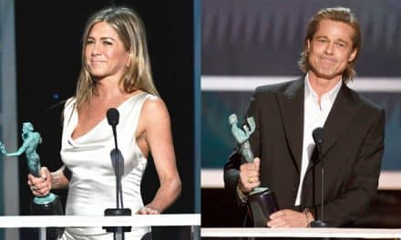 Jennifer Aniston y Brad Pitt se robaron las miradas en los SAG Awards