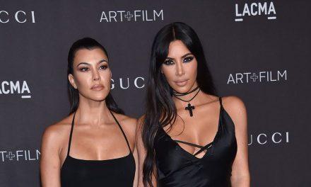 Kim y Kourtney Kardashian se agarraron a golpes (Video)