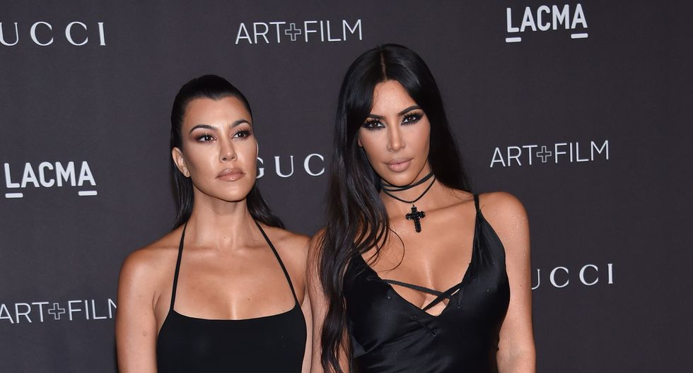 Kim y Kourtney Kardashian se agarraron a golpes (Video)