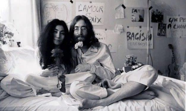 """Revelaron video inédito de """"Give Peace A Chance"""" con John Lennon y Yoko Ono"""
